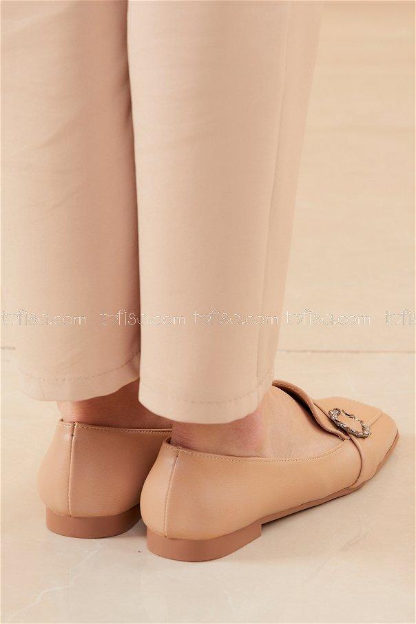 Babet Ayakkabı KREM - 20537