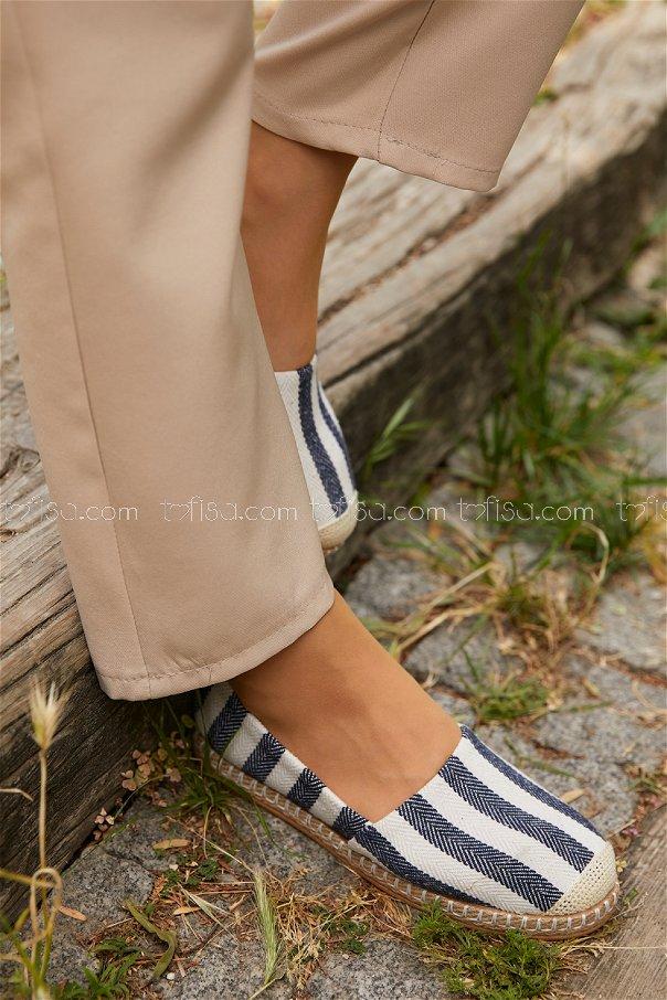 Babet Ayakkabı LACIVERT - 20403
