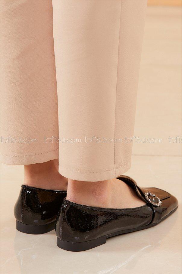 Babet Ayakkabı PARLAK SIYAH - 20537
