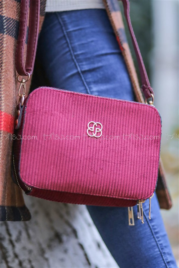 Bag Daily claret red - 8157