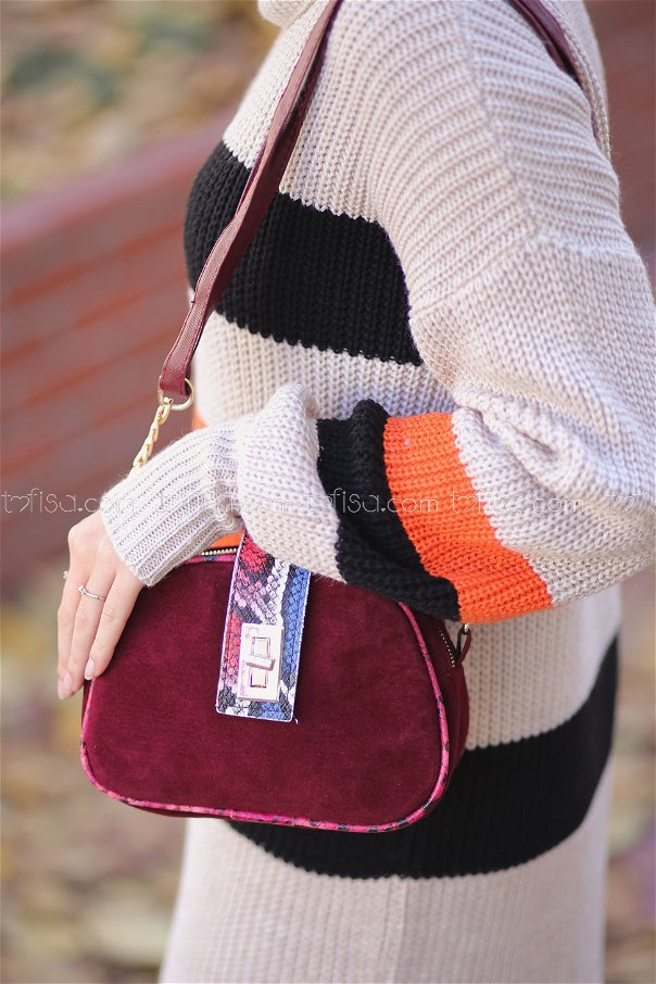 Bag Daily claret red - 8165