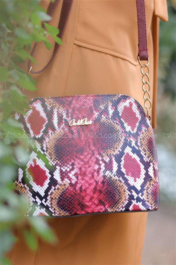 Bags Daily claret red - 8217