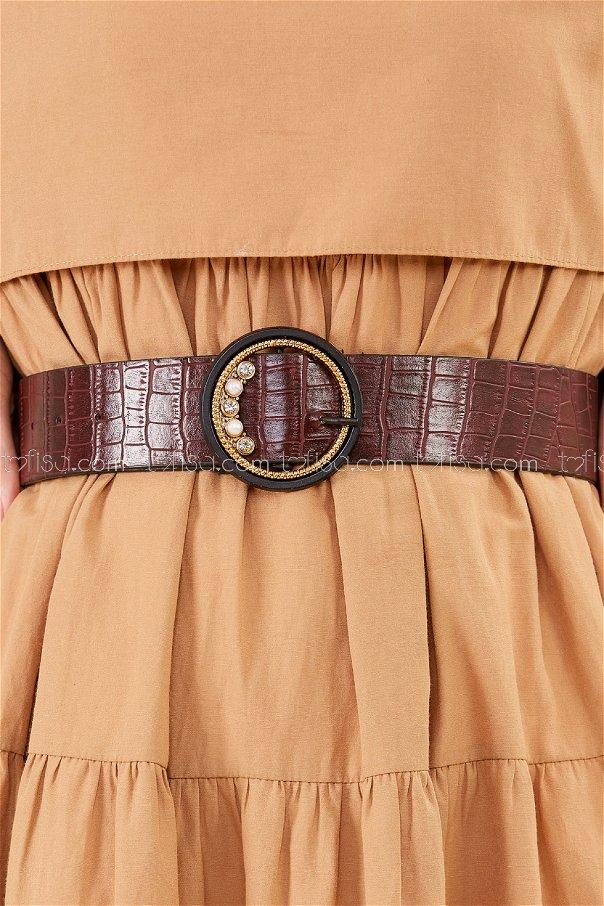 Belt claret red - 20447