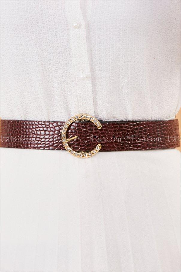 Belt claret red - 20495