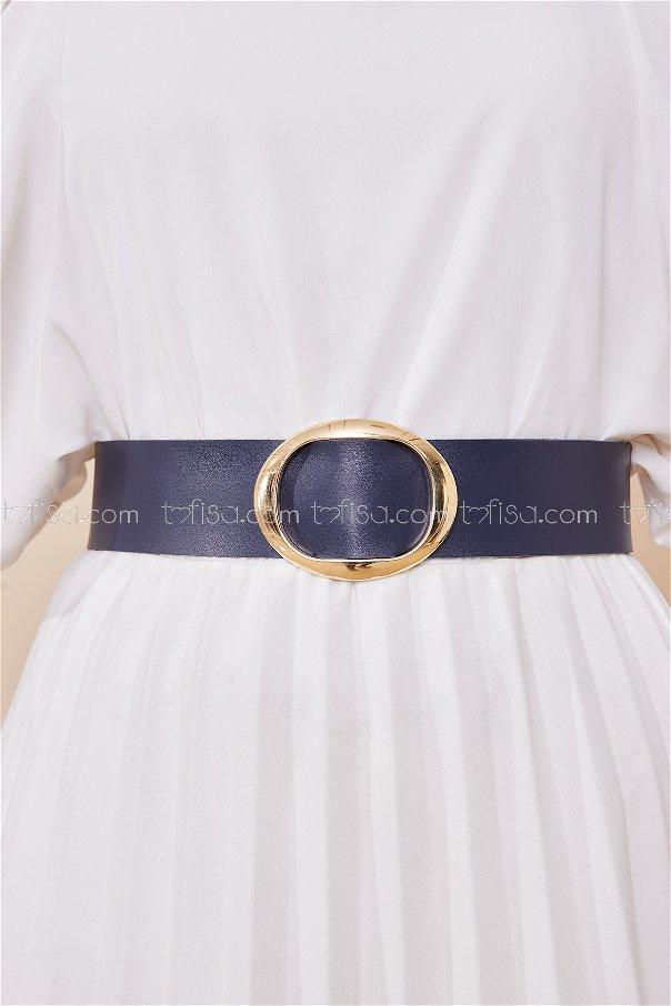 Belt Navy Blue - 8718