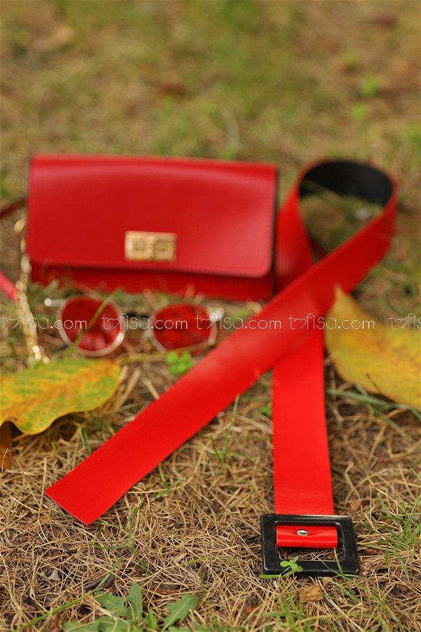 Belt Red - 8604