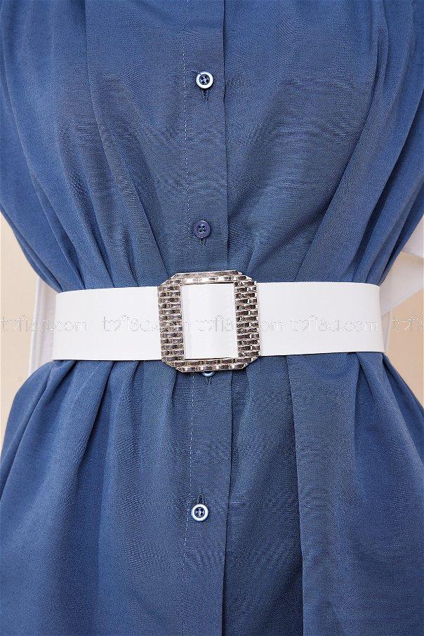 Belt White - 8719