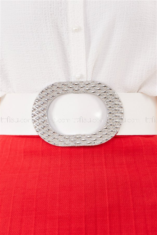 Belt WHITE - 8793