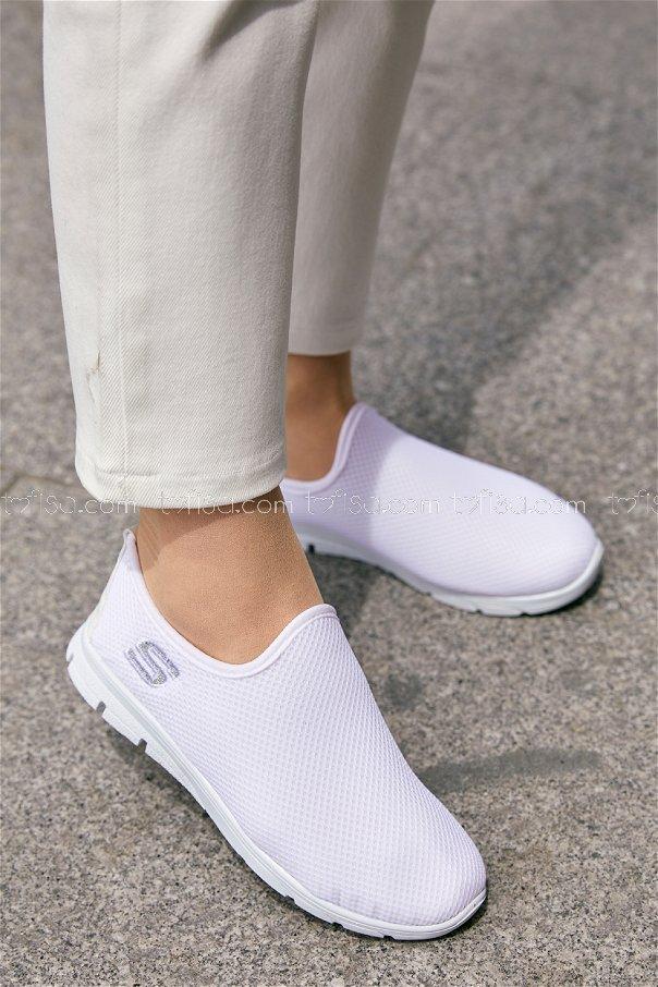 Bez Ayakkabı BEYAZ - 20135