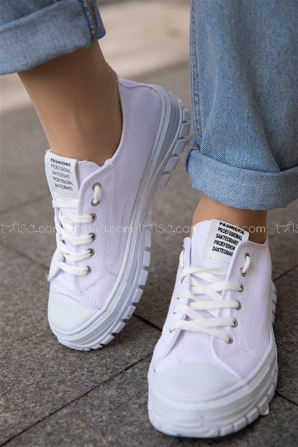 Bez Ayakkabı BEYAZ - 20139