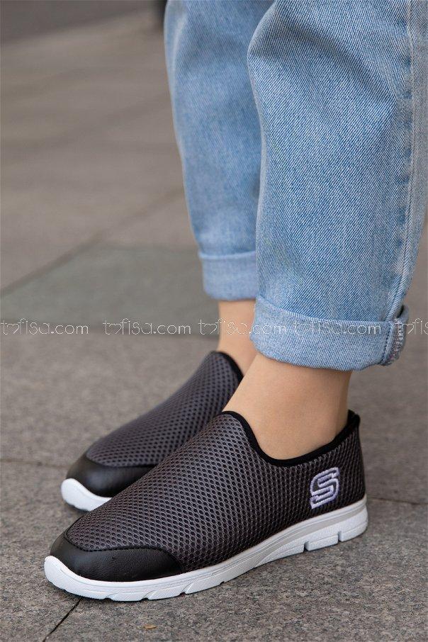 Bez Ayakkabı FUME BEYAZ - 20135