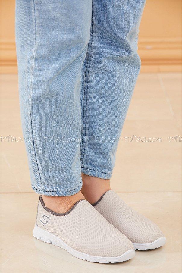 Bez Ayakkabı GRI - 20135