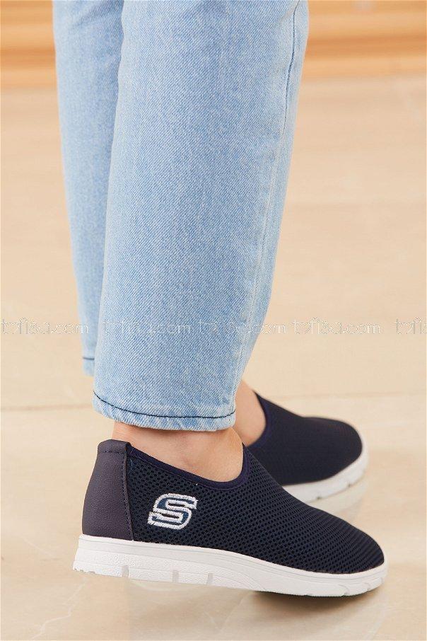 Bez Ayakkabı LACIVERT - 20135