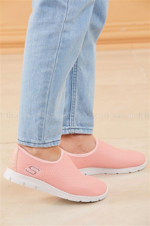 Bez Ayakkabı SEKERPEMBE - 20135