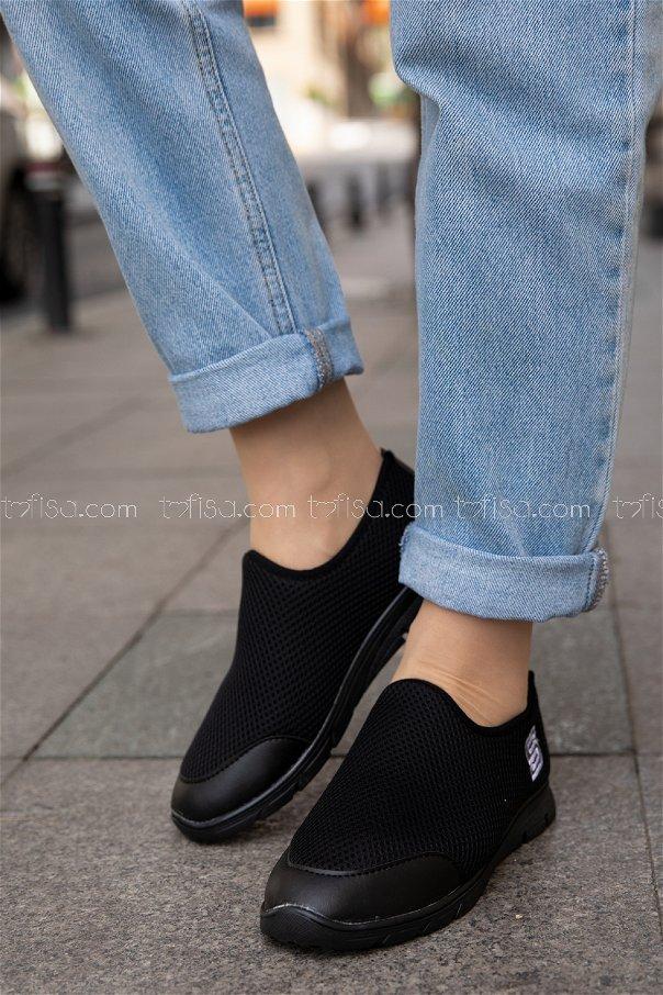Bez Ayakkabı SIYAH - 20135