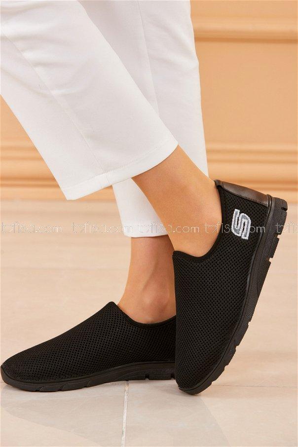 Bez Ayakkabı SIYAH - 20316