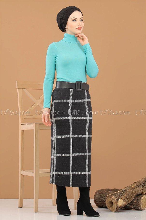 Blouse Skirt Combine Minter - 8307