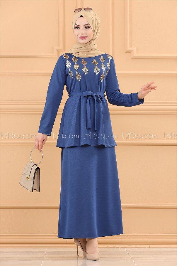 Bluz Etek INDIGO - 3724