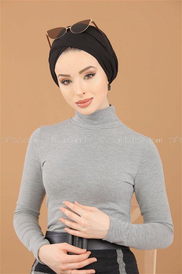 Bluz Etek Kombin Gri - 8307