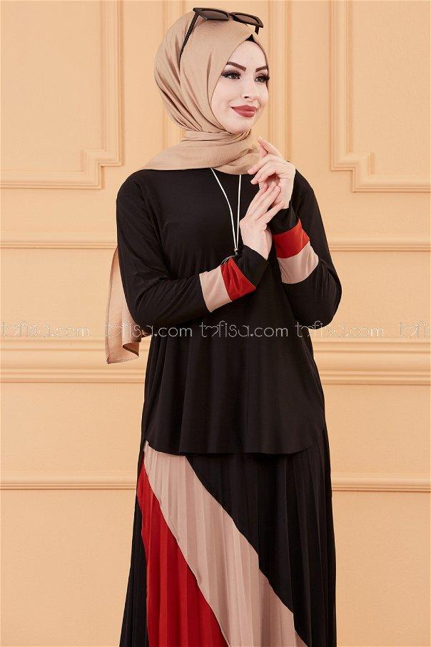 Bluz Etek SIYAH - 20121