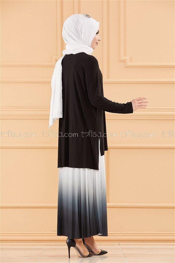 Bluz Etek SIYAH - 20658