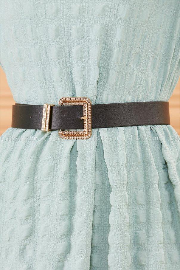 Buckled Belt BLACK - 20381