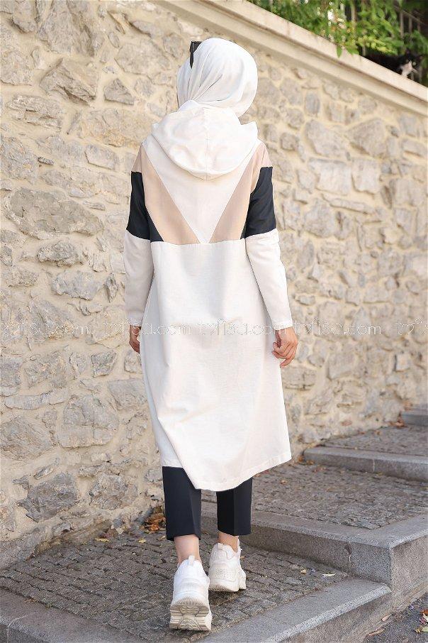 Cap Hooded Beige - 3082