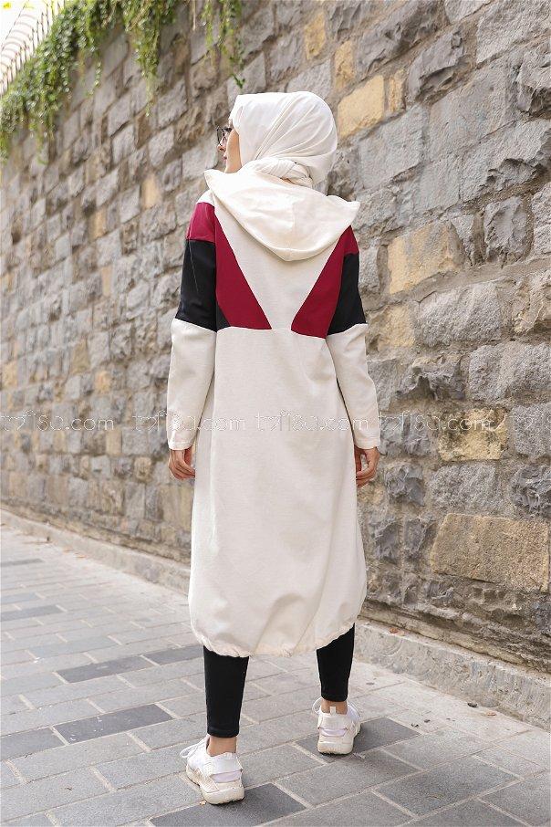 Cap Hooded Claret Red - 3082