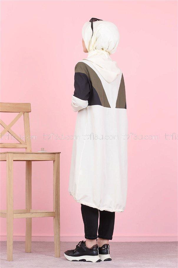 Cap Hooded Khaki - 3082