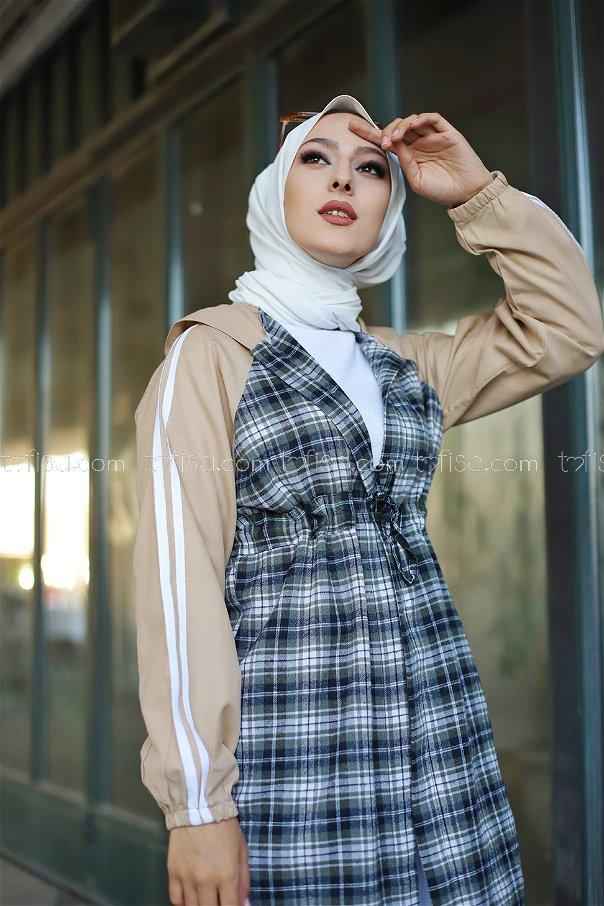 Cap Hooded Khaki - 3313