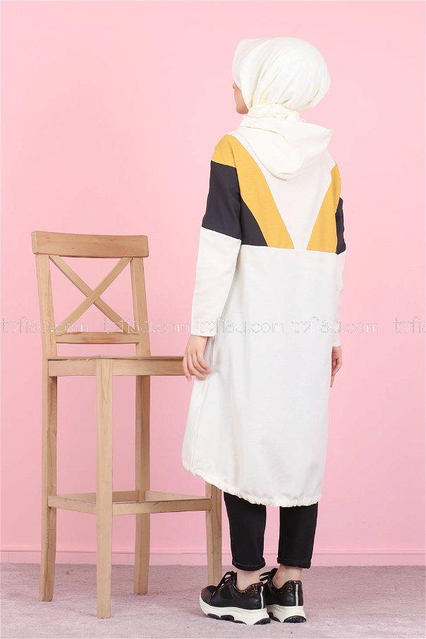 Cap Hooded Mustard - 3082
