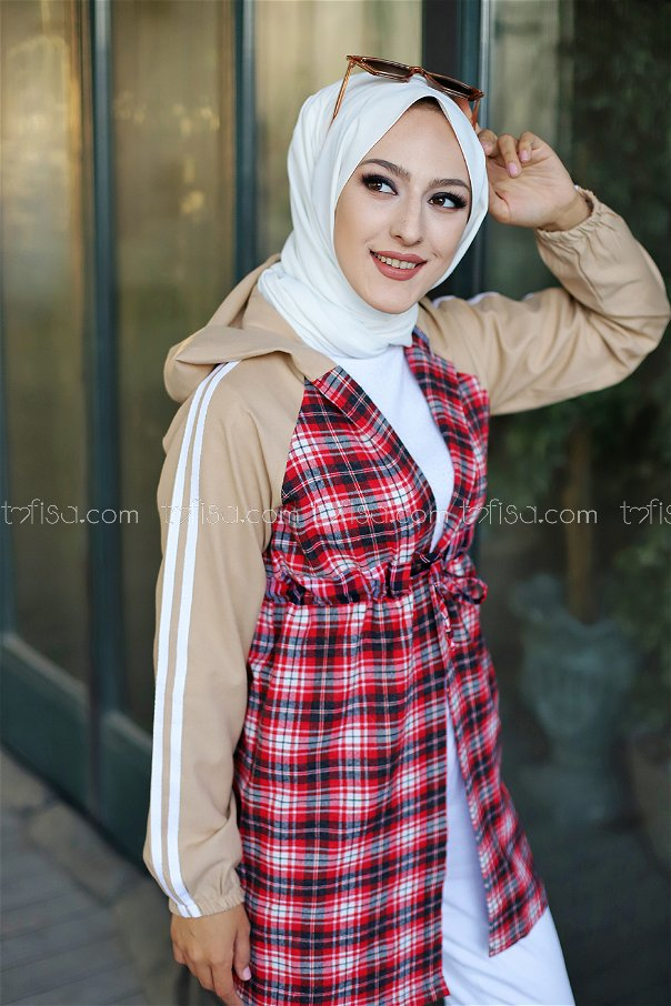 Cap Hooded Red - 3313