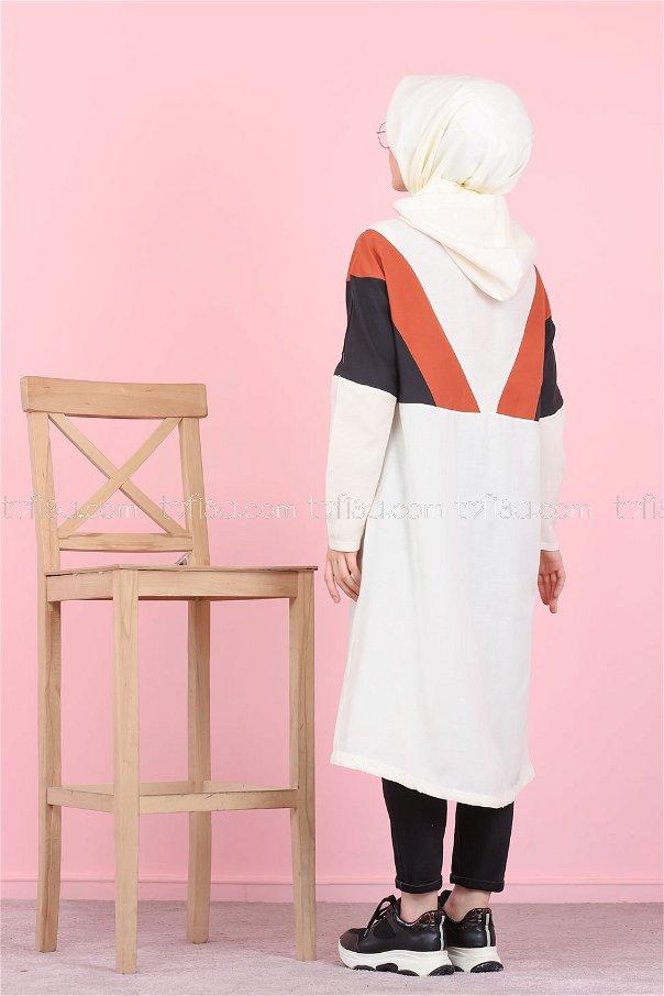 Cap Hooded Tile - 3082