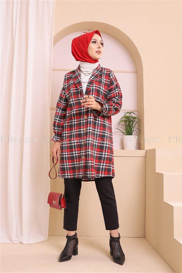 Ceket Ant Kırmızı - 3307
