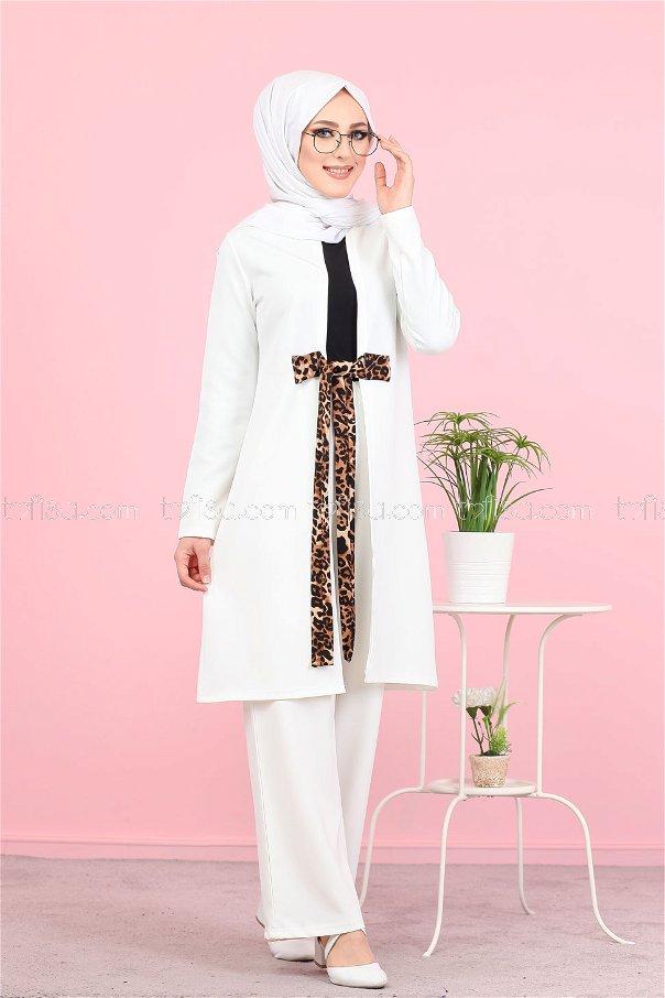 Ceket Beyaz - 3071