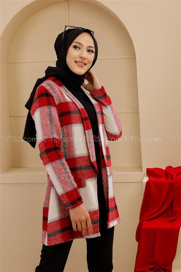 Ceket Kırmızı - 3389