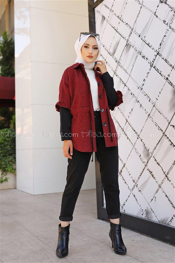 Ceket Kırmızı - 9085