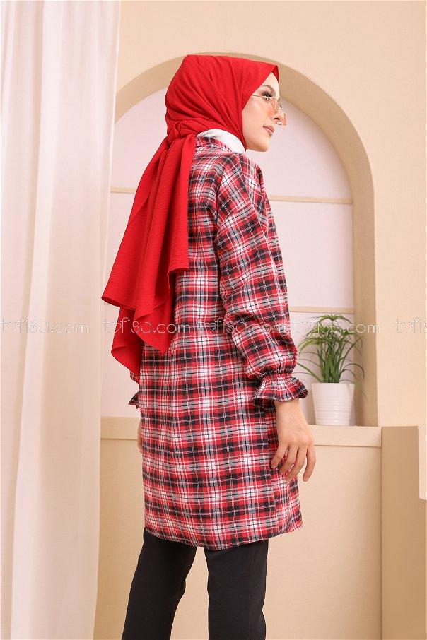 Ceket Laci Kırmızı - 3307