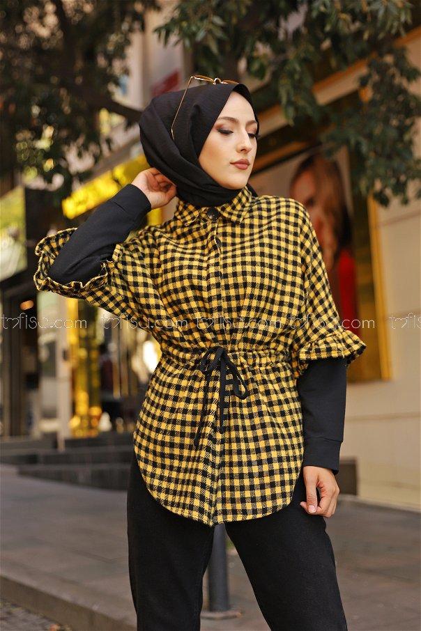 Ceket Sarı - 9083
