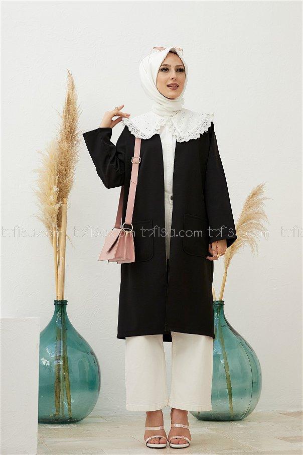 Ceket Sıyah - 3490