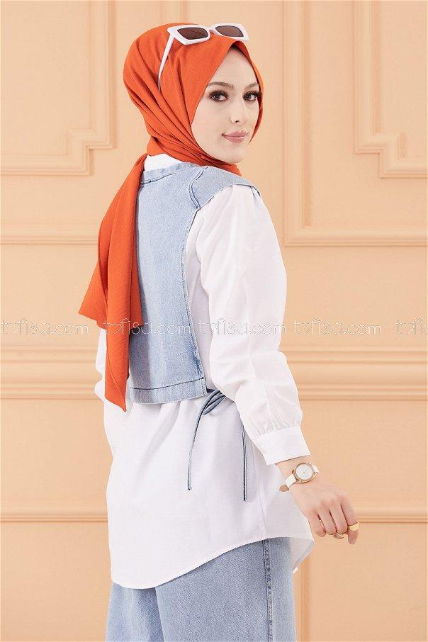 Ceket Tunık BUZ MAVISI - 20557