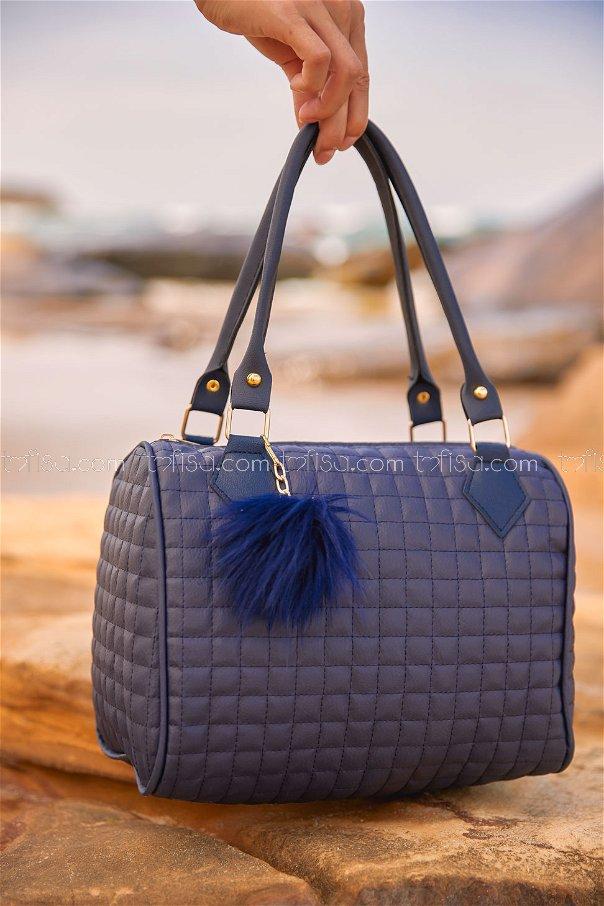 Cylinder Bag Navy Blue - 2003