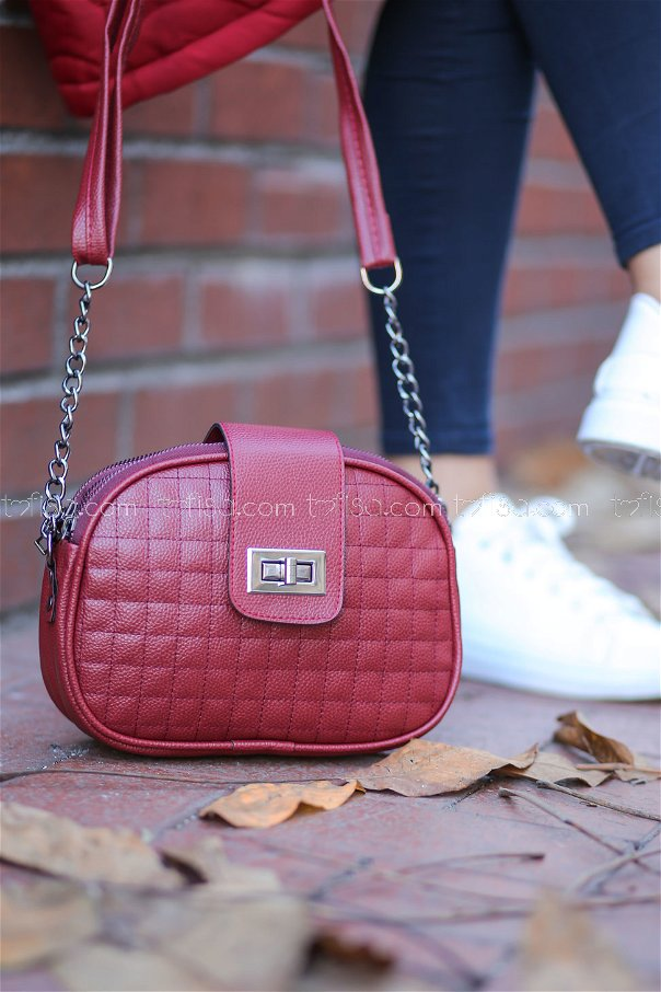 Daily Bag Claret Red - 8156