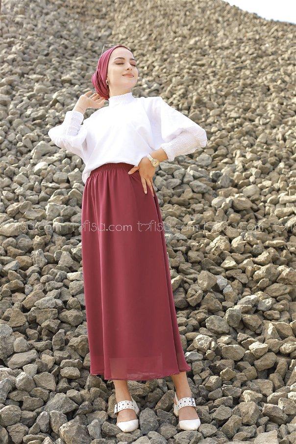 Skirt Dark Burgundy - 3222
