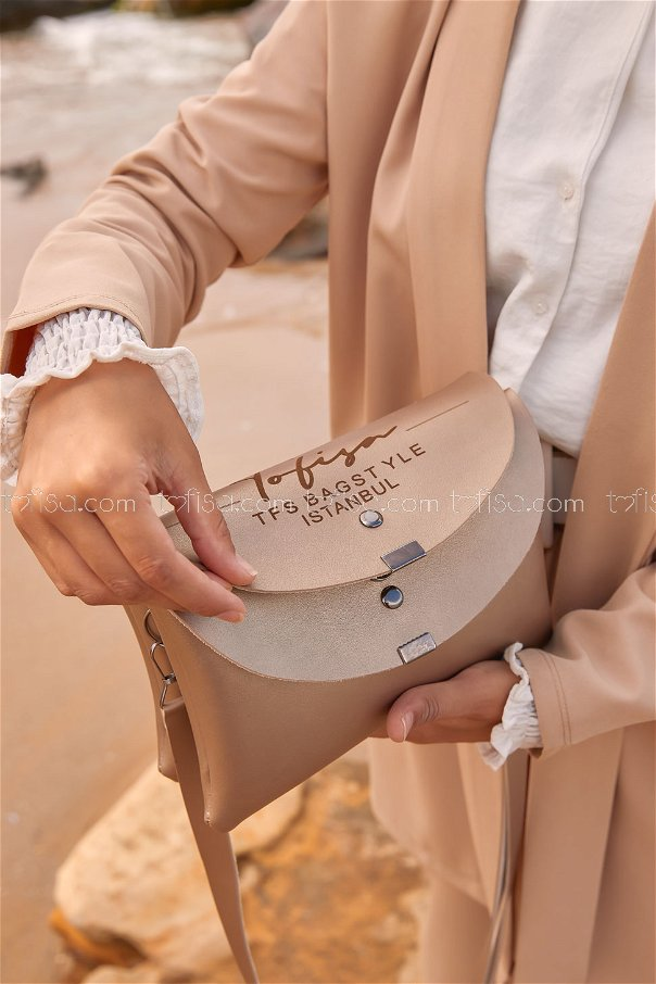 Double Cover Bag Beige - 2004