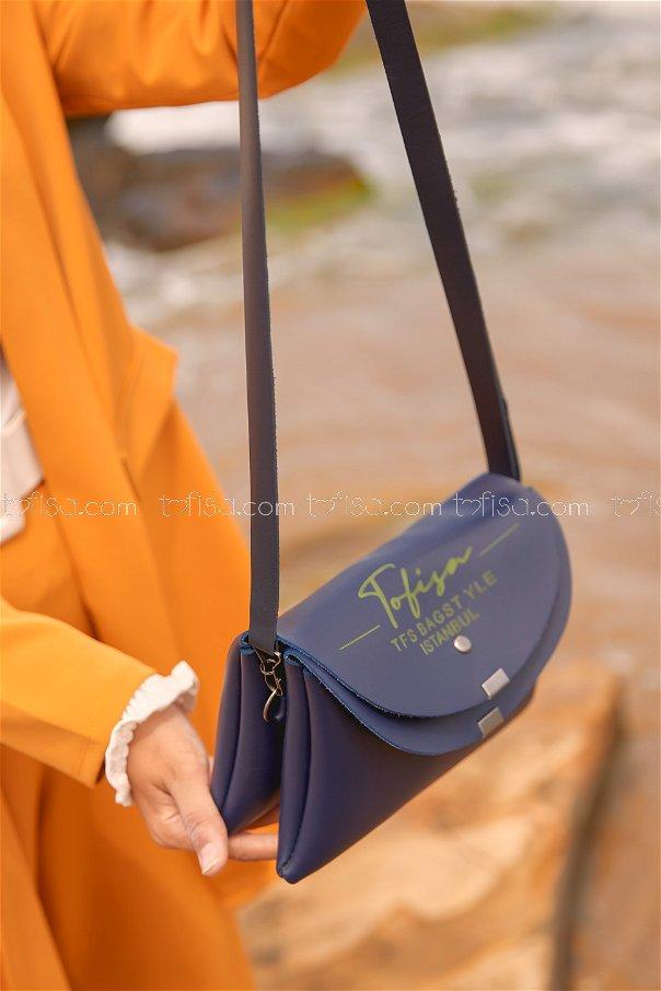 Double Cover Bag Light Navy Blue - 2004