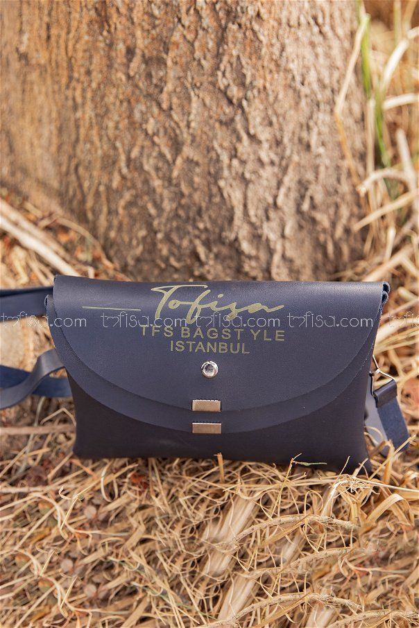 Double Cover Bag Navy Blue - 2004