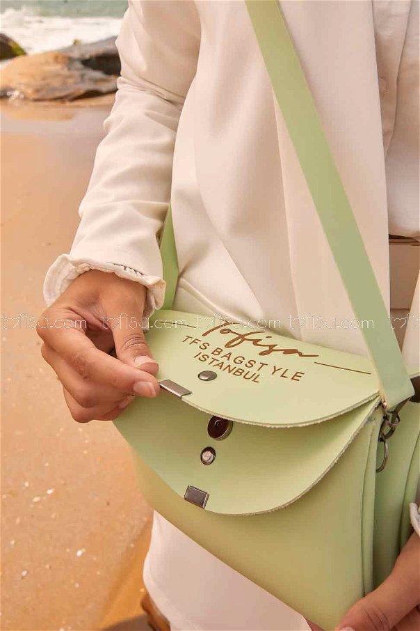 Double Cover Bag Pistachio Green -2004