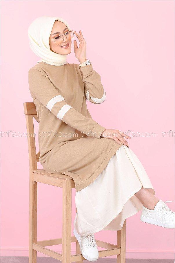 Dress Beige - 3080