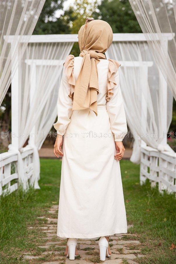 Dress Beige - 3125